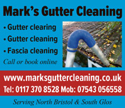Mark's Gutter Cleaning in north Bristol and South Glos.