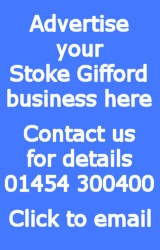 Advertising in the Stoke Gifford Journal