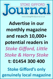 The Stoke Gifford Journal magazine - your MONTHLY local newspaper.