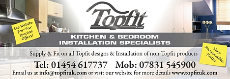 Topfit kitchen and bathroom installation specialists. Filton, Bristol