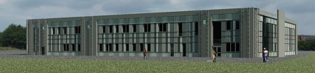 City of Bristol College's proposed Engineering Department building