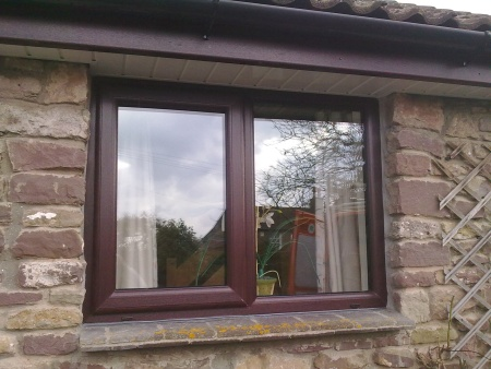 Double glazed window (Stoke Gifford, Bristol).