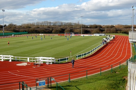 Kip Keino Athletic Stadium, WISE Campus, Stoke Gifford, Bristol.