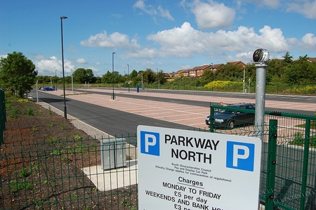 Parkway North park and ride, Hunts Ground Road, Bristol.