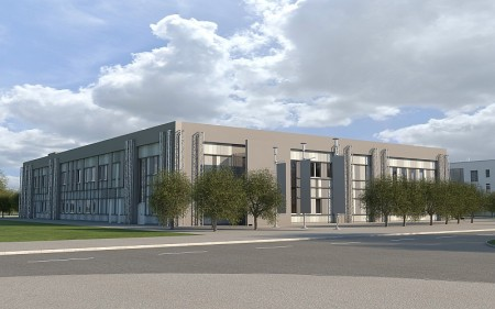 Artist's impression of City of Bristol College's new Advanced Engineering Centre.