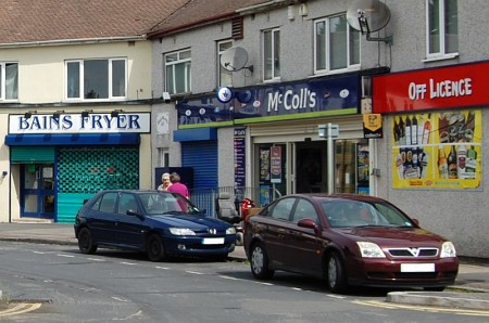 McColl's convenience store, Kingsway, Little Stoke, Bristol.