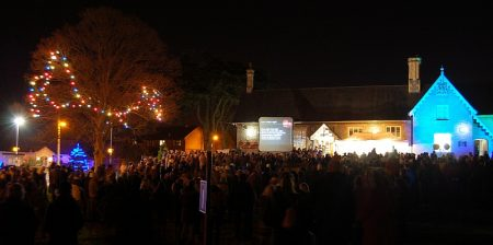 Carols on the Green - organised by St Michael's Church, Stoke Gifford, Bristol.