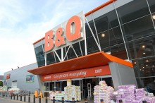 B&Q DIY Superstore, Fox Den Road, Stoke Gifford, Bristol.