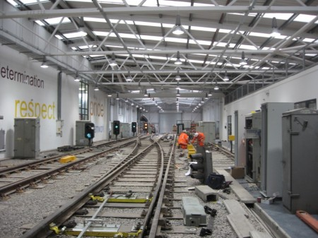 The Network Rail Maintenance Training Centre in Stoke Gifford, Bristol.