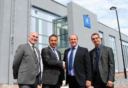 Stoke Gifford Advanced Engineering Centre key handover.