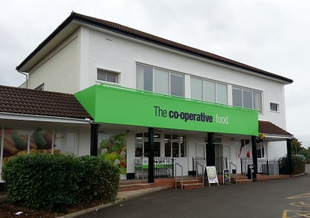 Co-operative store in Stoke Gifford. Bristol.