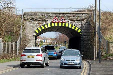 Gipsy Patch Lane railway bridge, Stoke Gifford, Bristol.