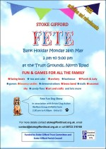 Stoke Gifford Village Fete on Bank Holiday Monday 26th May 2014.