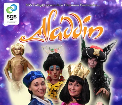 SGS College production of Aladdin.