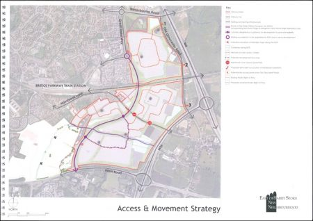 East of Harry Stoke New Neighbourhood Strategic Masterplan: Access and Movement Strategy.