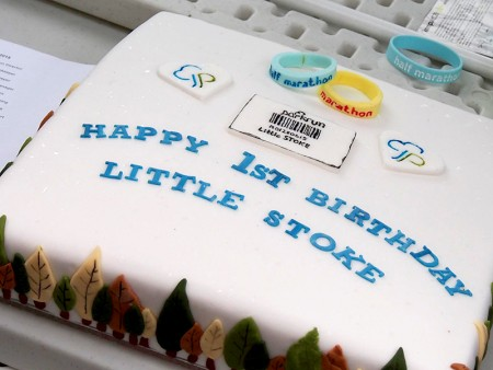 Little Stoke junior parkrun 1st birthday cake.
