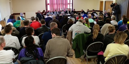 "Meeting of Stoke Gifford Parish Council on 12th April 2016 at which it was decided that ""parkrun should contribute (by means of a grant) to Little Stoke Park""."