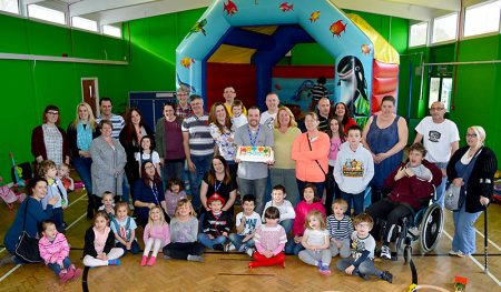 Safe Space 'stay and play' group for families with children with additional needs - based in Little Stoke, Bristol.