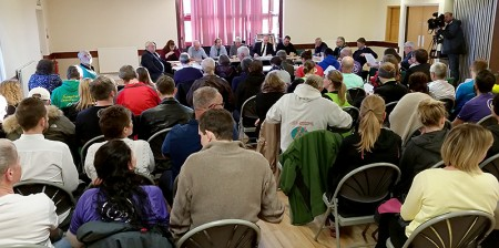 Meeting of Stoke Gifford Parish Council at which the future of parkrun in Little Stoke Park was discussed.