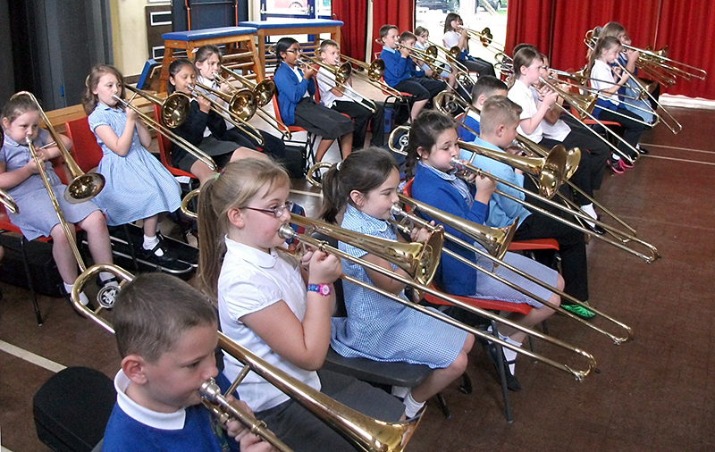 Music at Little Stoke Primary School, Bristol.