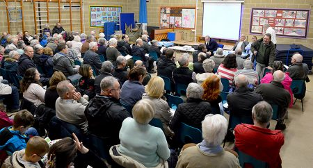 Public meeting to discuss the CPME proposals for Hatchet Road.