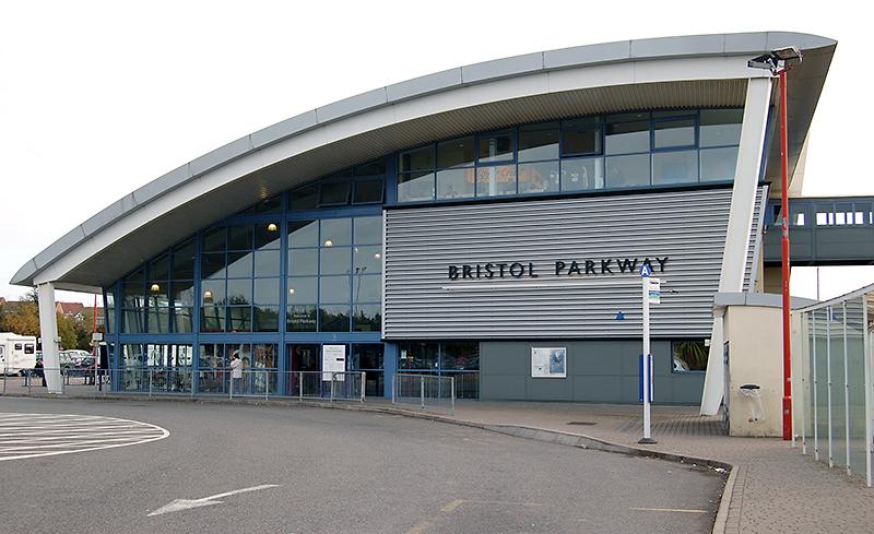 Bristol Parkway Railway Station, Stoke Gifford, Bristol.