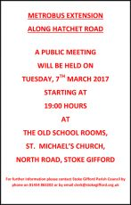 CPME Public Meeting on 7th March 2017.