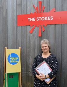 Photo of Yvonne Parks from Citizens Advice South Gloucestershire.