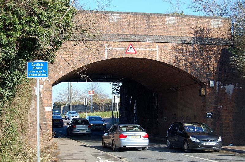 Hatchet Road railway bridge, near Parkway Station, Stoke Gifford.