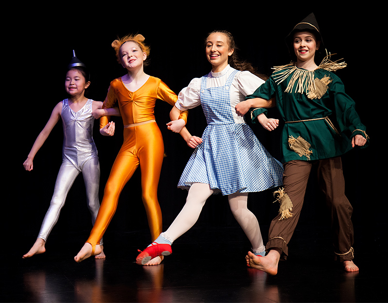 Photo of the four main characters in the show (l-r): Yuying, Grace, Ruby and Grace.