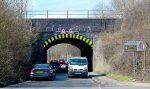Photo of the Gipsy Patch Lane railway bridge (looking westwards).