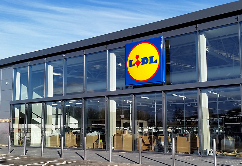 awesome photo of the soontoopen lidl store with lidl. Black Bedroom Furniture Sets. Home Design Ideas