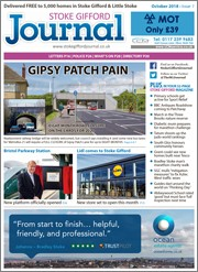 Illustrative issue of the Stoke Gifford Journal magazine.