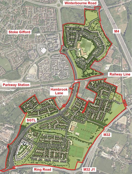 East of Harry Stoke New Neighbourhood: Crest Nicholson Masterplan (October 2018).