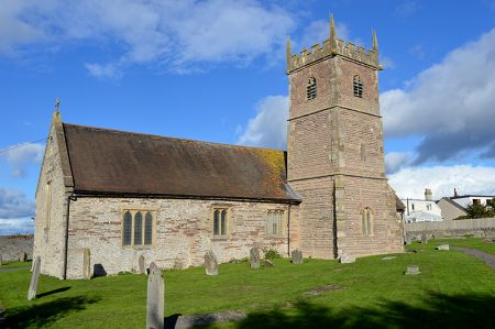 Photo of St Michael's Church, Stoke Gifford, viewed from the south.
