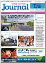 January 2019 issue of the Stoke Gifford Journal news magazine.