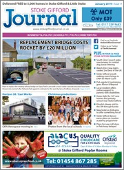 January 2019 issue of the Stoke Gifford Journal magazine.
