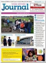 February 2019 issue of the Stoke Gifford Journal news magazine.