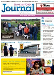 February 2019 issue of the Stoke Gifford Journal magazine.