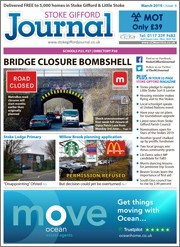 March 2019 issue of the Stoke Gifford Journal magazine.