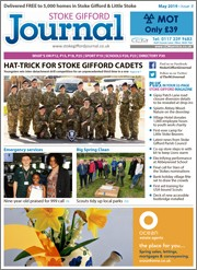 May 2019 issue of the Stoke Gifford Journal magazine.