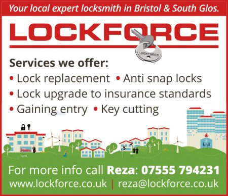 Lockforce Bristol - locksmith in Stoke Gifford and Little Stoke.