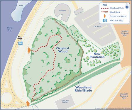 Map of Splatts Abbey Wood.