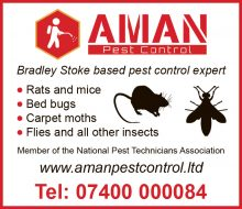 Aman Pest Control, serving Stoke Gifford and Little Stoke.