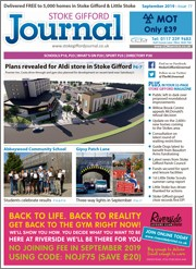 September 2019 issue of the Stoke Gifford Journal magazine.