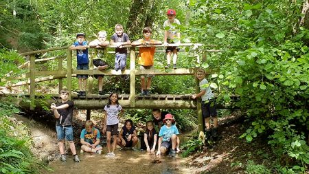 Photo of Cubs and Scouts on camp in Cranham.
