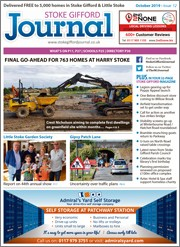 October 2019 issue of the Stoke Gifford Journal magazine.