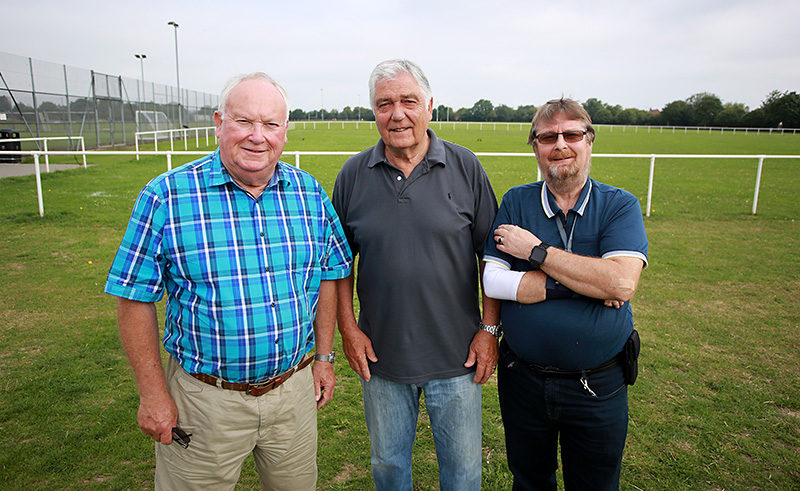 Photo of ward councillors (l-r): Brian Allinson, Ernie Brown and Keith Cranney.