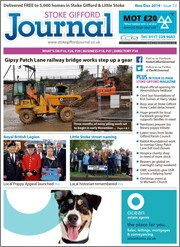 November/December 2019 issue of the Stoke Gifford Journal magazine.