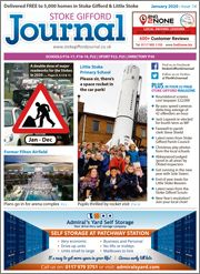 January 2020 issue of the Stoke Gifford Journal magazine.